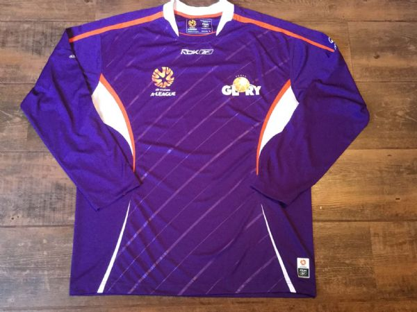 2006 2007 Perth Glory L/s Football Shirt Adults Large Australia